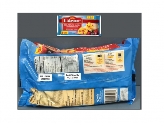 Part of the packaging images released with the recall. Source: USDA Food Safety and Inspection Service