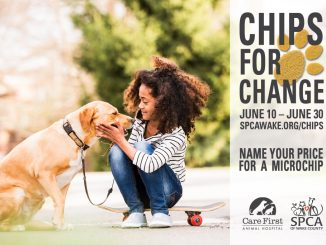 Chips for Change program flyer. Source: SPCA of Wake County, North Carolina