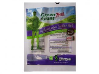 One of multiple labels/packaging images released with the recall. Source: Growers Express.