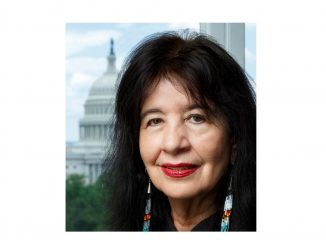 Joy Harjo, US Poet Laureate. Source: US Library of Congress