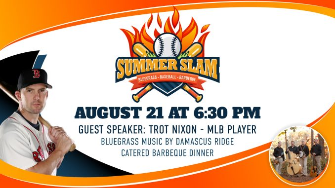Summer Slam banner. Source: Englewood Baptist Church, Rocky Mount, NC