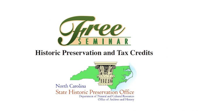 Historic Preservation and Tax Credits seminar announced. Source: Nashville Chamber of Commerce