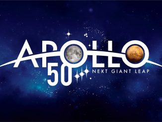 Apollo 50th Anniversary logo. Source: NASA