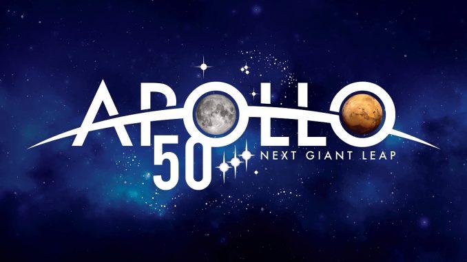 Apollo 50th Anniversary logo. Source: NASA