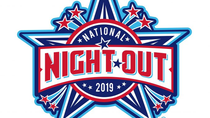 National Night Out 2019 logo. Source: National Association of Town Watch – natw.org