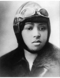 Bessie Coleman, pilot. Source: Eric Jackson, Historian, Selma, NC