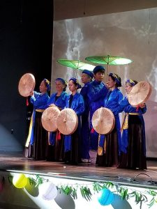 A 2018 Trung Thu Moon Festival performance. Source: Wake Forest Renaissance Centre
