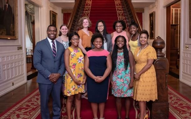 2019 Lady Cardinal Mentorship Program Student Participants. Source: NC Department of Administration