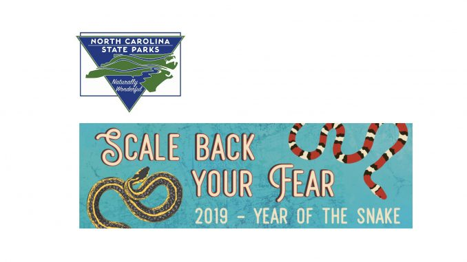 Logo and Year of the Snake banner. Source: North Carolina State Parks