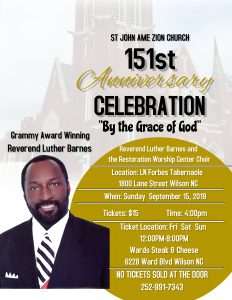 St John AME Zion Church 151st Anniversary Celebration. Source: Jacquie Jeffers