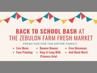 Back To School Bash planned at Zebulon Farm Fresh Market. Source: Town of Zebulon, NC