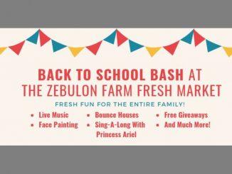 Back To School Bash planned at Zebulon Farm Fresh Market. Source: Town of Zebulon, NC