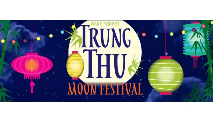 Wake Forest Trung Thu Moon Festival banner. Source: Wake Forest Renaissance Centre
