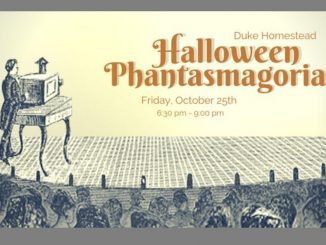 Halloween Phantasmagoria 2019. Source: Duke Homestead State Historic Site