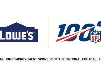 Lowe's / NFL 100 Lockup. Source: Lowe's Companies, Inc.