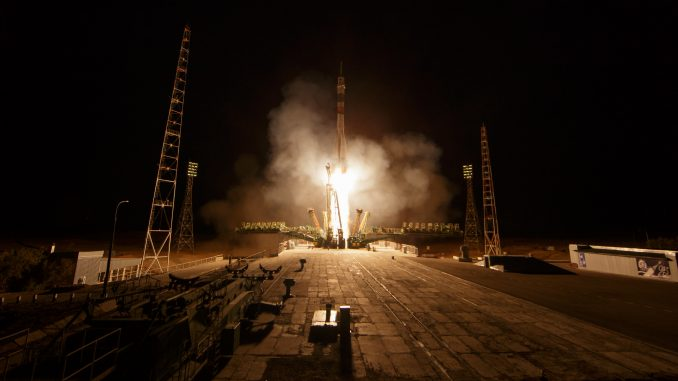 Expedition 61 Launch