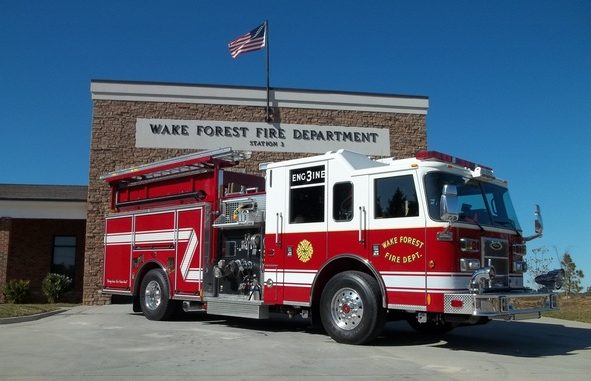 One of the five WFFD stations. Source: Wake Forest Fire Department