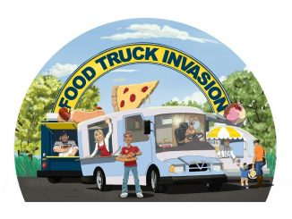 Food Truck Invasion logo. Source: Burt + Brewington Creative Agency / City of Rocky Mount, NC