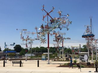 Vollis Simpson Whirligig Park. Photo: Kay Whatley, The Grey Area News