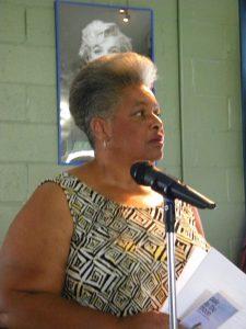 Poet Jackie Dove-Miller