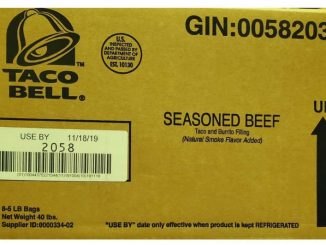 Seasoned beef cases label. Source: US Department of Agriculture Food Safety and Inspection Service