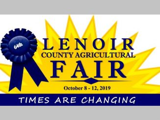 Lenoir County Fair 2019 logo