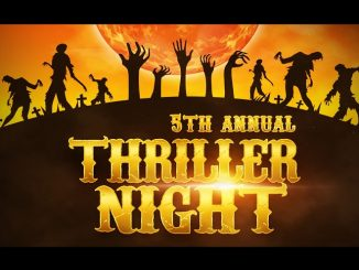 Thriller Night flyer. Source: Downtown Goldsboro Merchants Association
