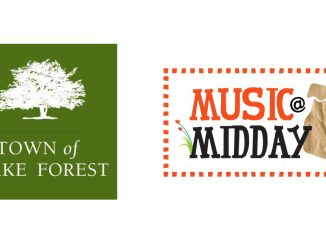 Music at Midday lunchtime free concerts in Wake Forest, NC
