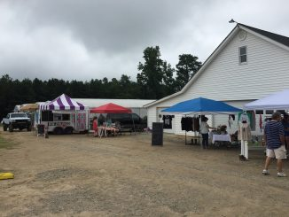 NC farms invite visitors in for farm activities and events. Photo: Kay Whatley, HS Howell Farm Market 2019
