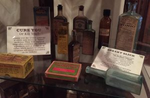 """Cure You or Kill You"" medicine artifacts on display in The Country Doctor Museum. Photo: Kay Whatley"