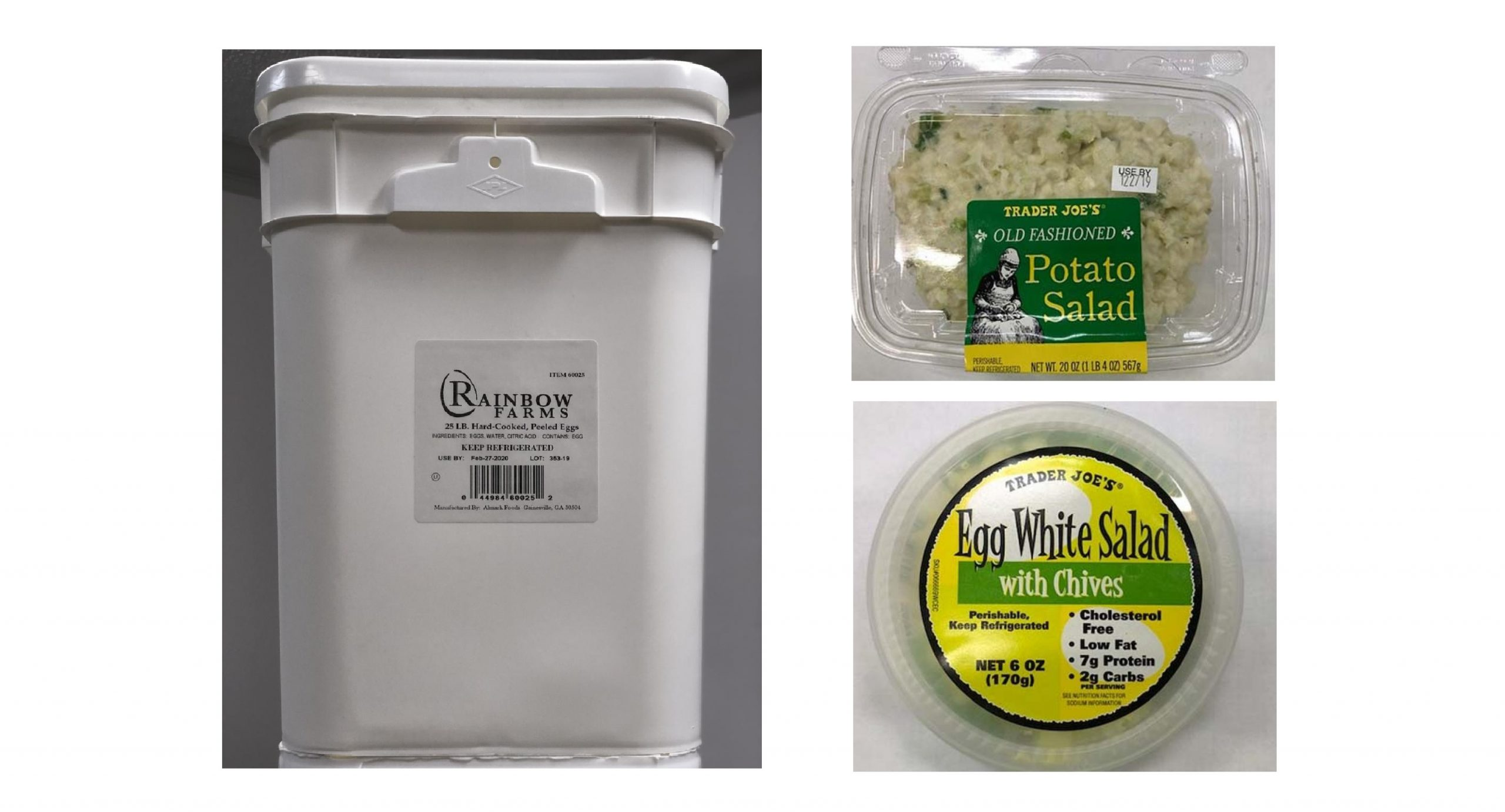 Almark Foods Egg Recall Expanded Related Recalls Issued Including Trader Joe S And Dierbergs Markets The Grey Area News