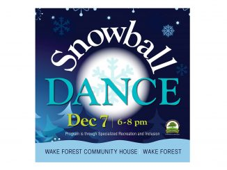 Snowball Dance 2019. Source: Bess Martinson, Town of Wake Forest