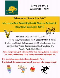 Bunn Fun Day 2020 Flyer
