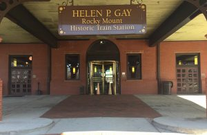 Rocky Mount Railroad Museum is located inside the Helen P. Gay Historic Train Station, Rocky Mount. Photo: Kay Whatley