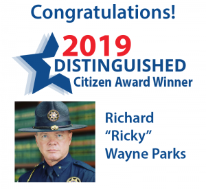 """The 2019 Distinguished Citizen of the Year Award Winner Richard """"Ricky"""" Wayne Parks. Source: Desiree Dolberry, Rocky Mount Area Chamber of Commerce"""