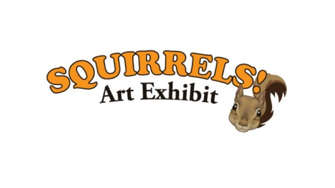 Squirrels! Art Exhibit 2020. Source: New Hanover County/Airlie Gardens