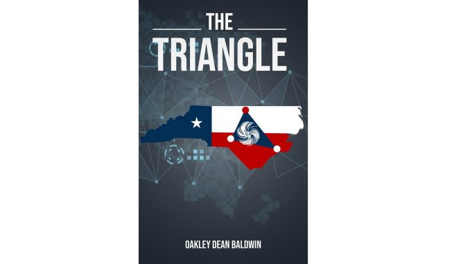 "Book cover for ""The Triangle"" by Oakley Dean Baldwin"