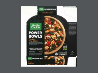 One of the packaging labels released with the Conagra-Healthy Choice product recall. Source: USDA Food Safety and Inspection Service