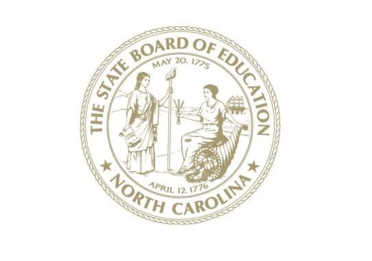 NC Board of Education seal. Source: Source: North Carolina Public Schools
