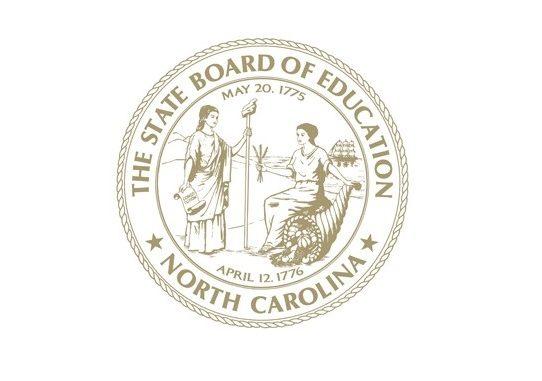 NC Board of Education seal. Source: Source: North Carolina Public Schools