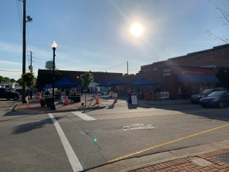 Zebulon Farm Fresh Market's Spring 2020 location at Vance Street and Arendell Avenue. Source: Sheila Long, Town of Zebulon, NC