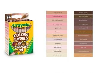 Crayola Colors of the World Crayons will be available in mid-2020. Source: PRNewsfoto/Crayola
