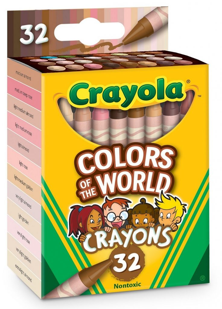 Crayola Colors of the World Crayons, 32 pack. Source: PRNewsfoto/Crayola