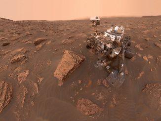 A self-portrait of NASA's Curiosity rover taken on Sol 2082 (June 15, 2018). Credit: NASA/JPL-Caltech/MSSS