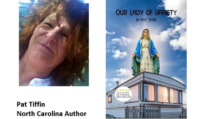 Author Pat Tiffin releases new novel, set in fictional North Carolina town, with appearances by the Virgin Mary. Source: Pat Tiffin