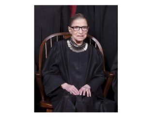 Associate Justice Ruth Bader Ginsburg. Source: Fred Schilling, Collection of the Supreme Court of the United States