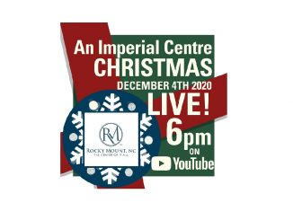 Imperial Centre will hold a Virtual Christmas Celebration December 4, 2020. Source: Jessie Nunery, City of Rocky Mount, NC
