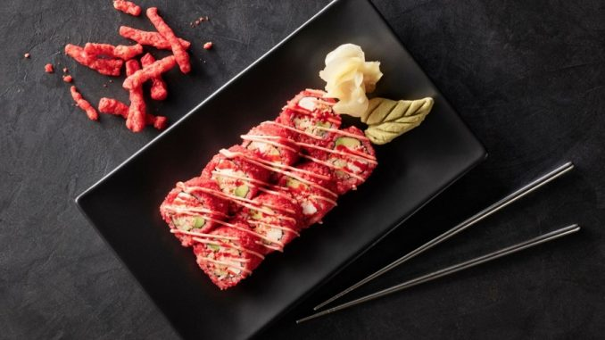Hissho Sushi-Cheetos-Flamin-Hot-Roll