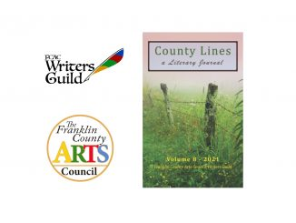County Lines: A Literary Journal is available via Amazon and the Franklin County Arts Council.