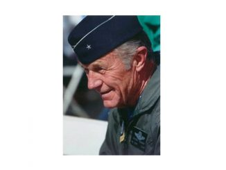 Photo of Chuck Yeager, taken in the 1990s. Credits: Air Force Test Center History Office